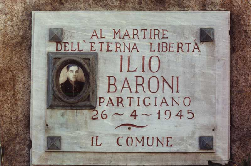 Plaques in the City of Turin to those who died in the Liberation